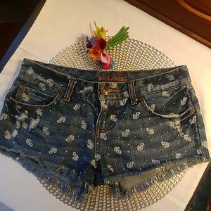 Billabong Jean Shorts!